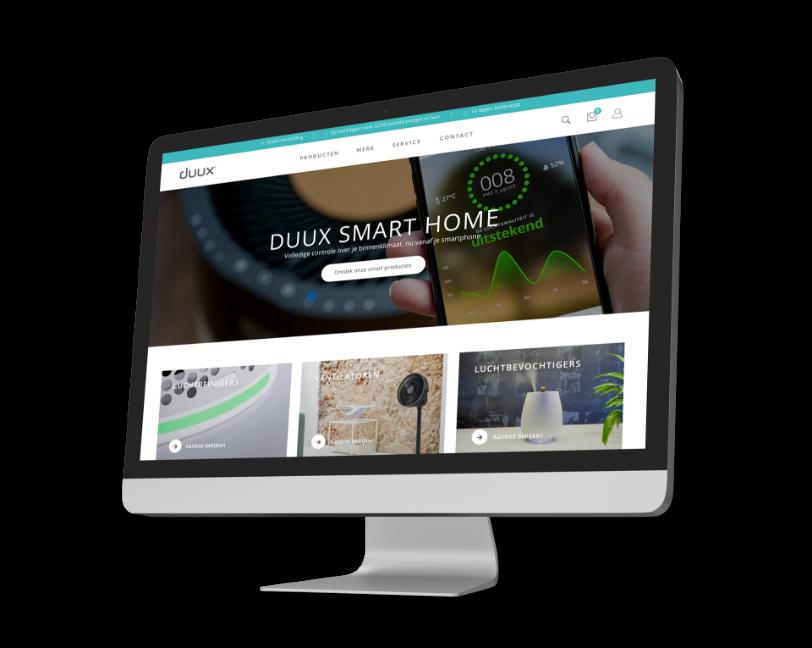 Duux website